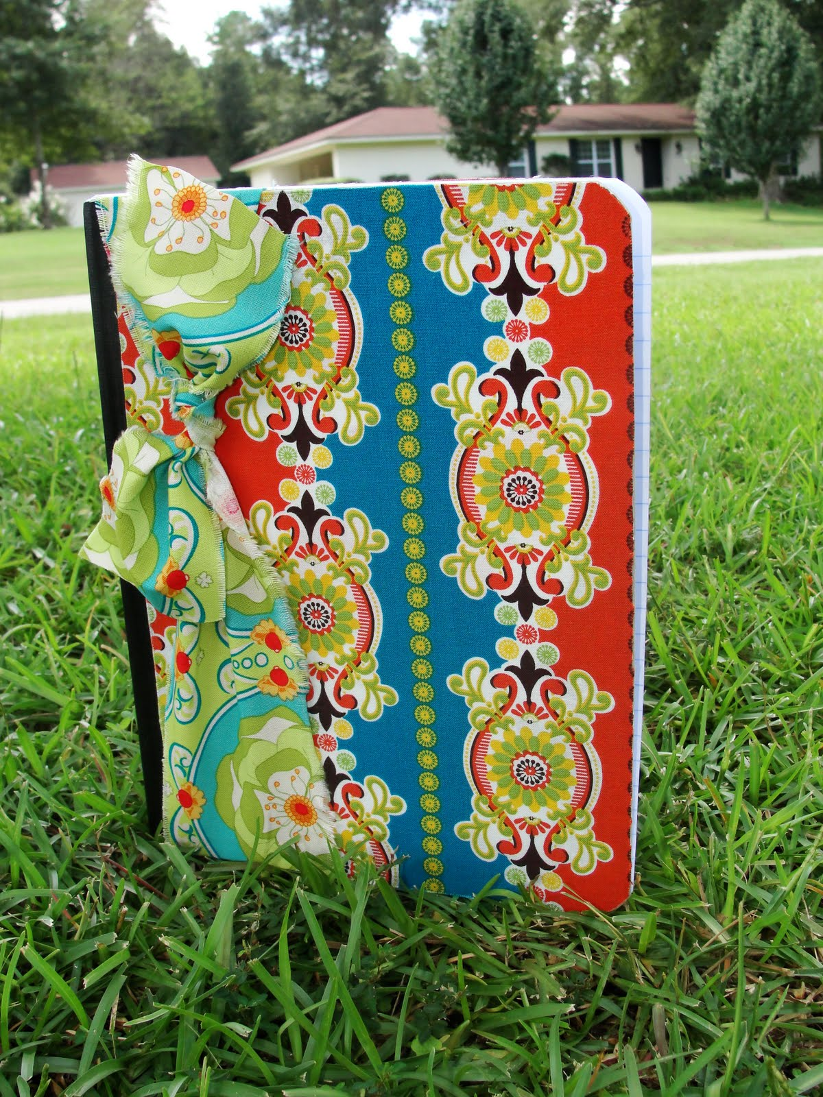 Fabric Cover For Composition Book ~ Imperfectly beautiful fabric covered notebooks