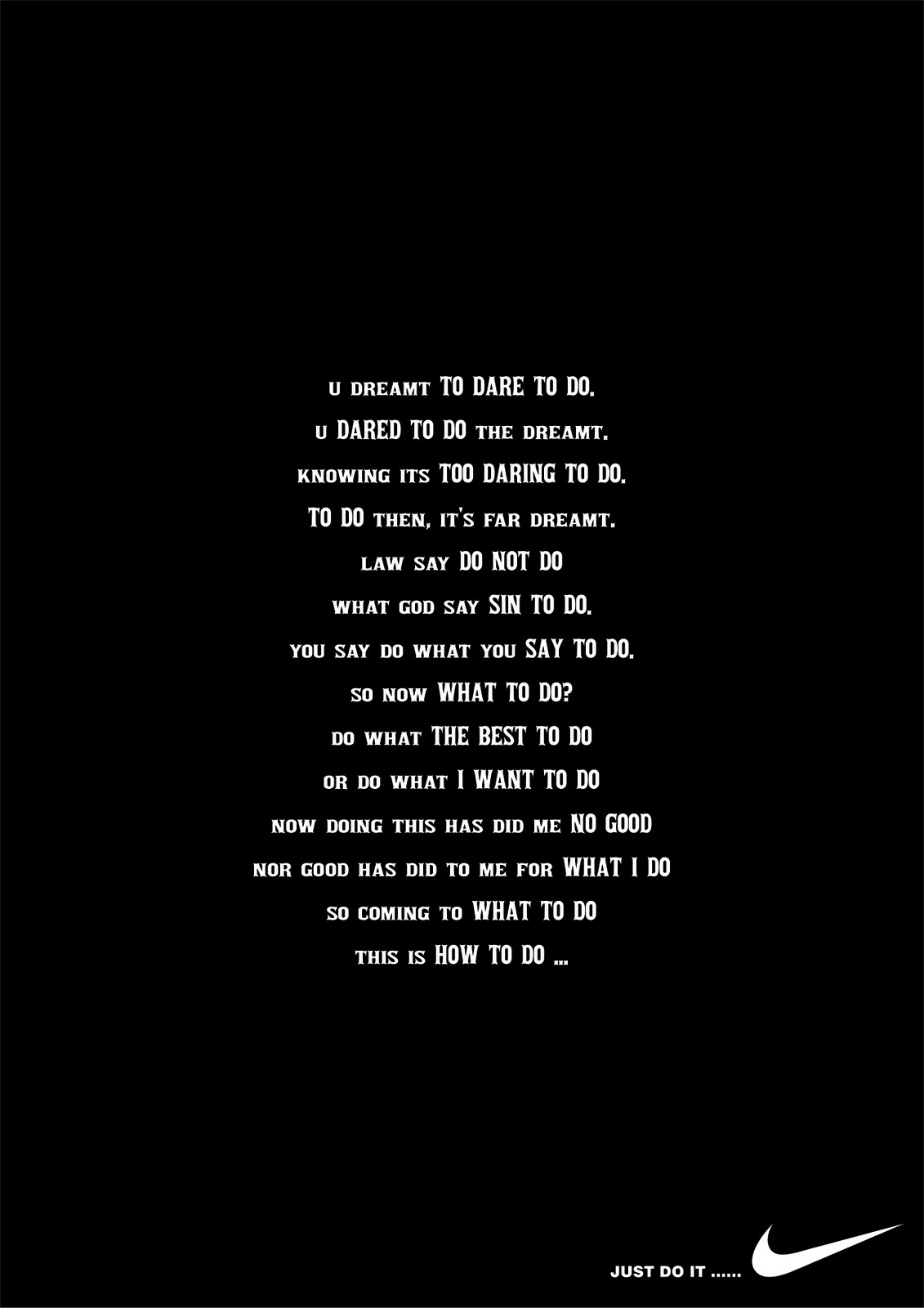 Good Just Do It Quotes Just Do It Nike Motivational Quote Wallpaper Hd Inspiring  Quotes