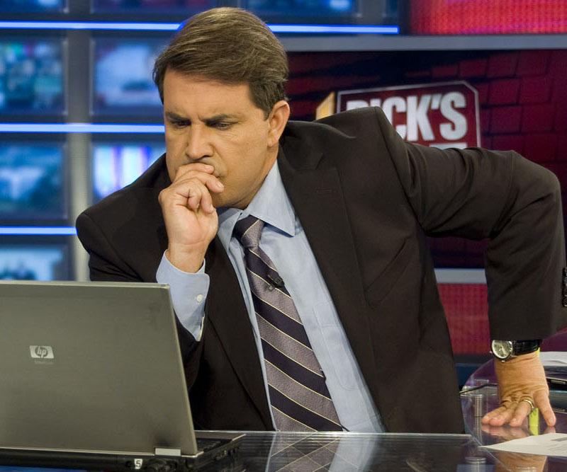 cnn crossfire logo. CNN today fired Rick Sanchez