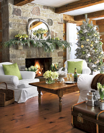 Home Thoughts From A Broad: Christmas decoration house tour..