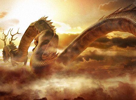 Dragones con movimiento en 3D - Imagui