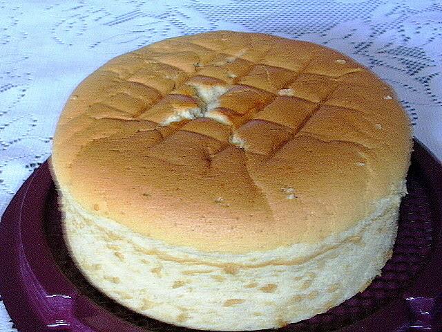 Small Small Baker: Mocha Light Cheesecake