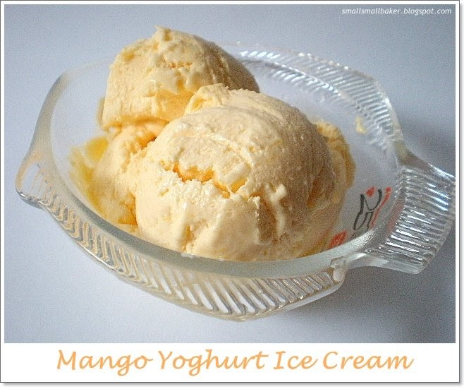 how to make yogurt ice cream recipe