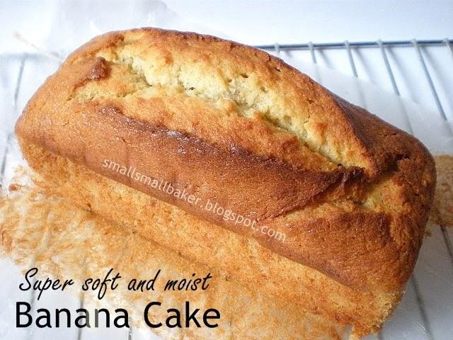 Moist Banana Cake Recipe Singapore