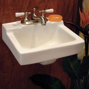 Gerber Wall Hung Sink : Nothing Shiny: Gerber West Point wall-hung lavatory