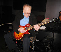 les paul playing new guitar