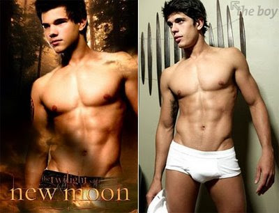 Corpinho Que Vemos No Poster Fan Made Do Taylor O Jacob Black