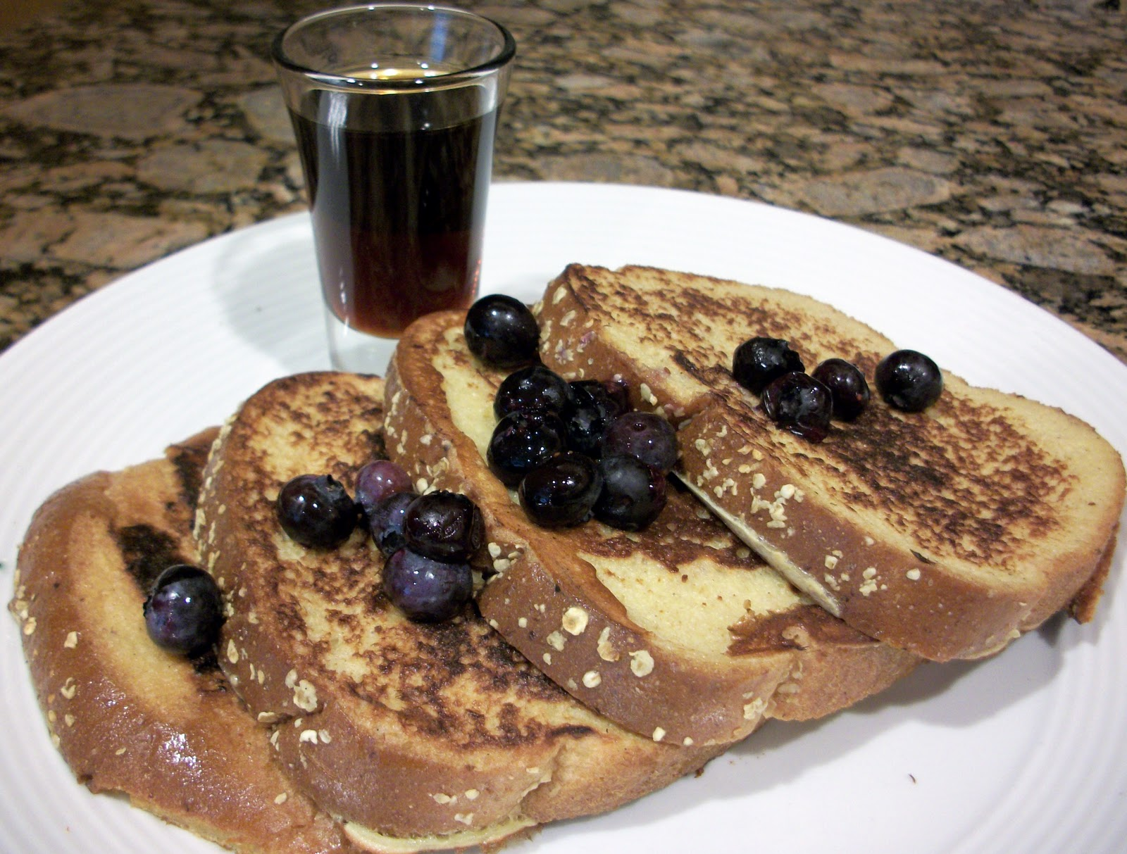 I Like To Serve This Topped With Some Berries And Just A Drizzle Of Maple  Syrup Very Easy, But Very Yummy! French Toast (with Sweetened Condensed  Milk)