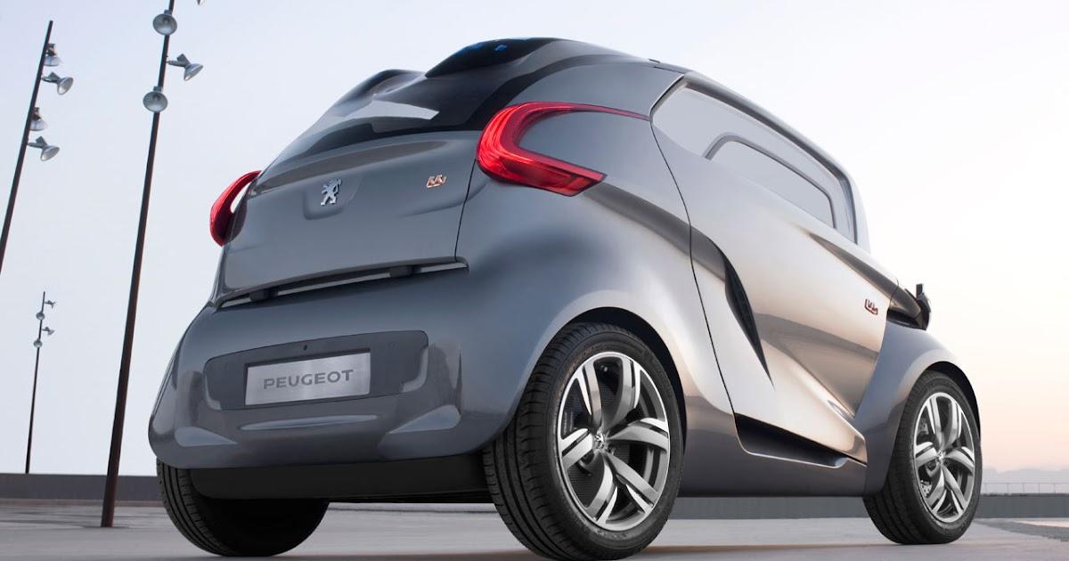 Designing Cars Peugeot Bb1 Concept