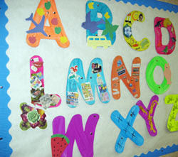 letters for bulletin boards templates - template for border of bulletin board