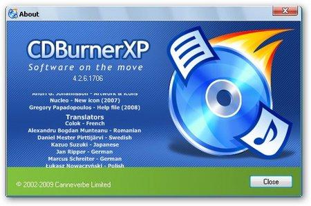 برنامج حرق الملفات على اقراص CD و الدى فى دى CDBurnerXP 4.5.7.6321 coobra.net