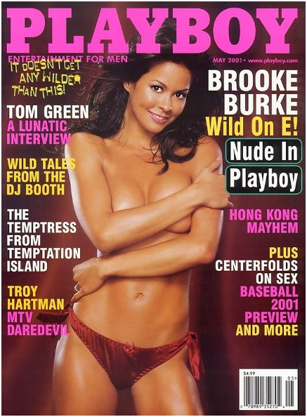 Playboy Magazine Nude In - May 2001