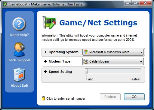 PGWARE GameBoost 1.11.29.2010