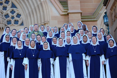 [Image: Sister+of+Life+in+Australia+with+Cardinal+Pe]