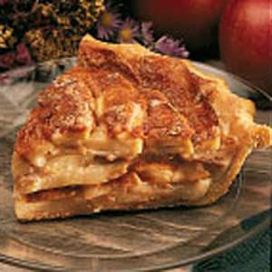 German apple flan