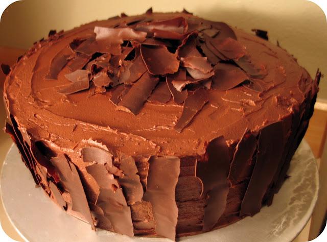Epicurious Chocolate Stout Cake