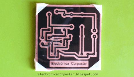preparación placa cobre planchado