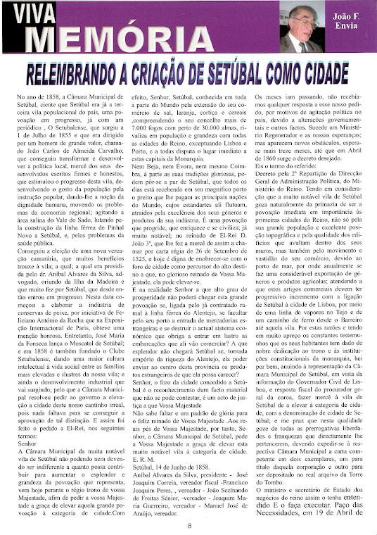 SETÚBAL DE VILA A CIDADE 1