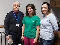 Dr. Eddie Shaw, Bryn Jarvis and Miranda Hill