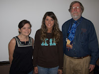 Amber DeVore, Melonie Adams and Dr. John Strange