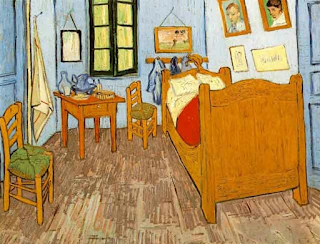 Van Gogh's Room at Arles, 1889
