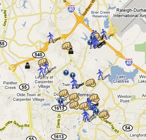 Morrisville Nc We Ve Got A Map For That Spotcrime The