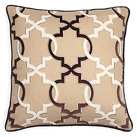Add a punch of pattern with this pillow from Z Gallerie