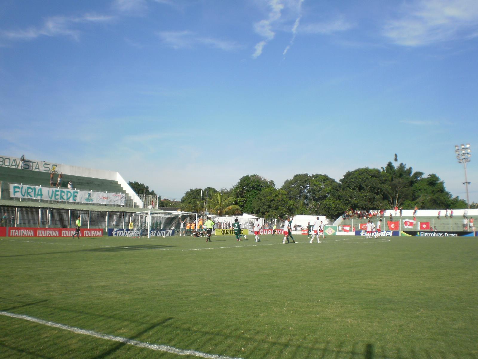 MARCO TULIO PAIXÃO POR FUTEBOL: BOAVISTA SPORT CLUB 1 X 1 AMÉRICA  #356C96 1600 1200