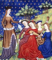 Les dames en leur jardin secret...