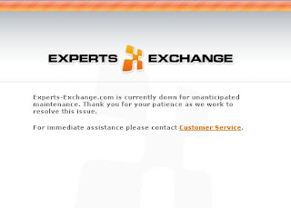 expert, exchange, down, maintenance