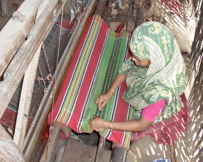 hand loom, gamcha, lungi, kushtia, jugia