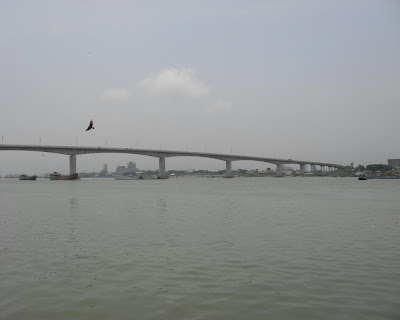muktarpur bridge, munshiganj, dhaleswari river bridge