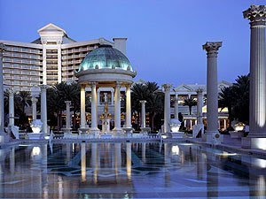 Caesars palace in las pools and cabana for Caesars swimming pool