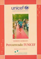Roberto Giordano Percorrendo l'Unicef (copertina libro)