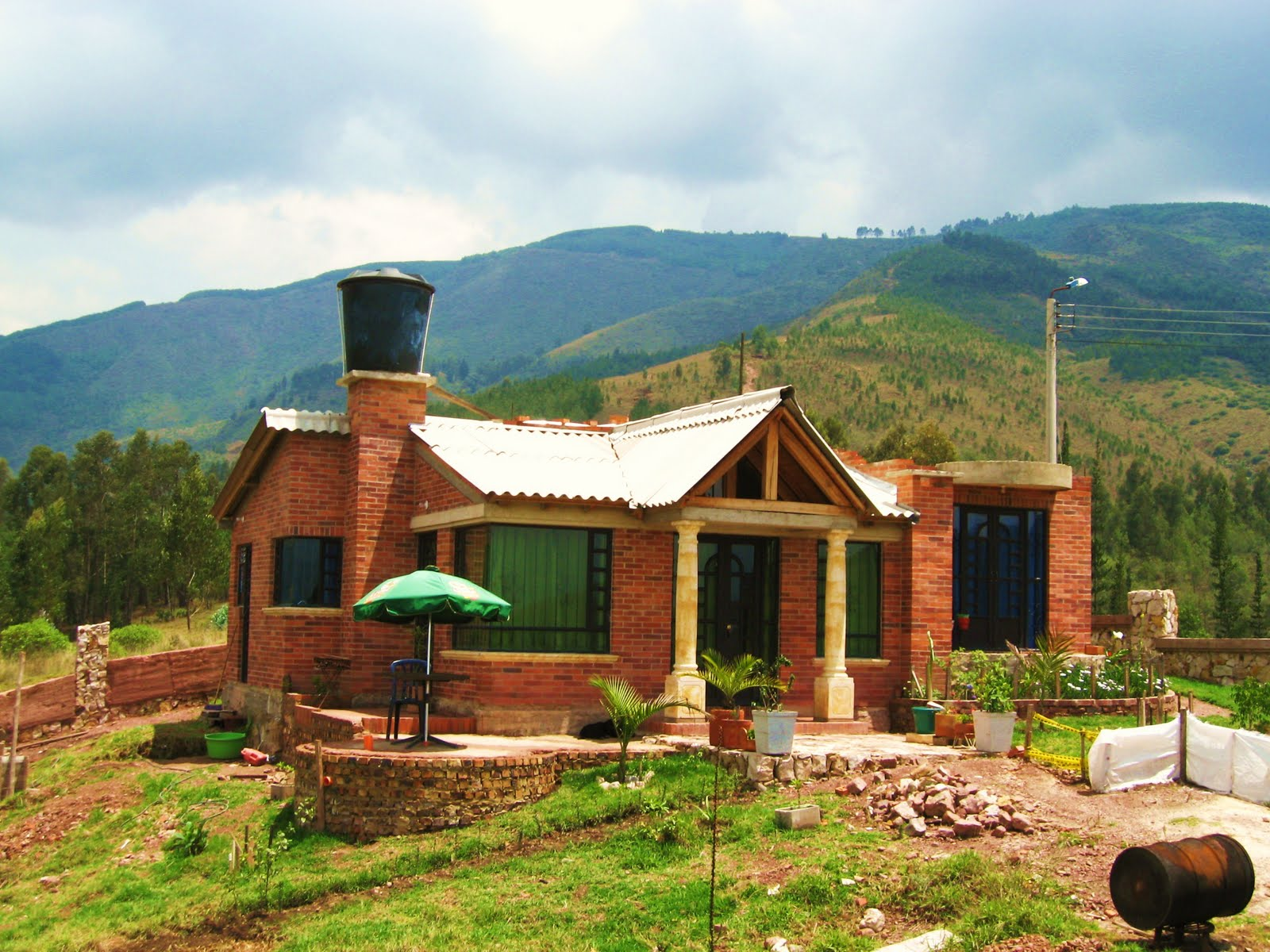 Casas campestres modulares costruccion piscinas for Disenos de fincas campestres