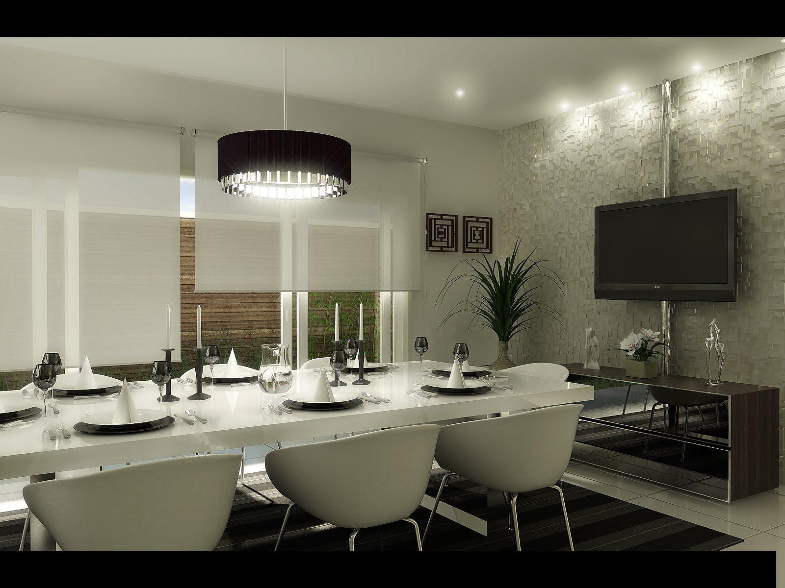 Sala Tv E Jantar Juntas ~ sala de jantar e tv juntas pequenaIdéias de decoração para casa