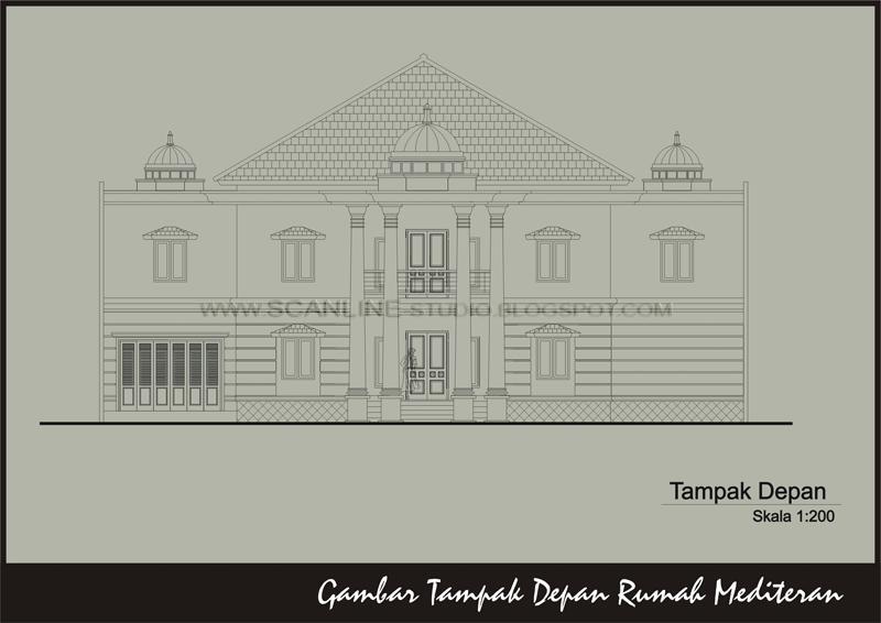 rahmat yani scanline founder contemporary house yogyakarta