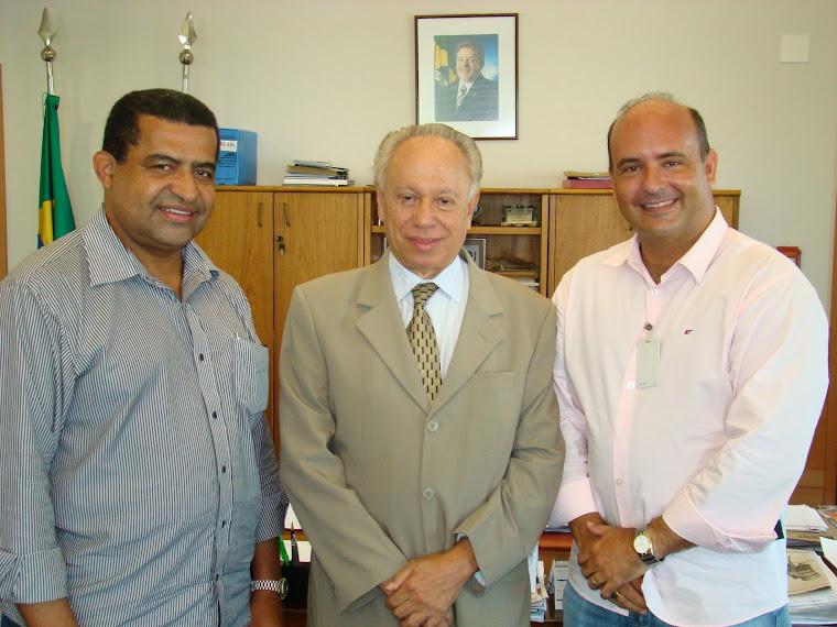 Vereador Saulo Peres na Agência Nacional de Petróleo no Rio de Janeiro