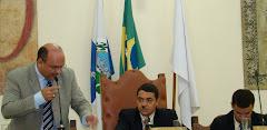 Vereador Saulo Peres questiona o prazo de avaliação das contas do Exercício de 2007 do Executivo