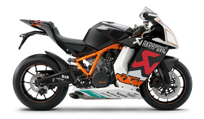 KTM 1190 RC8R Akrapovic Limited Edition 2010 motorcycle gallery