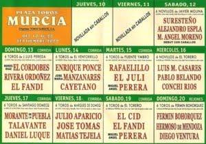 FERIA DE MURCIA 2009 - Pincha en el Cartel - Para MAS INFORMACION