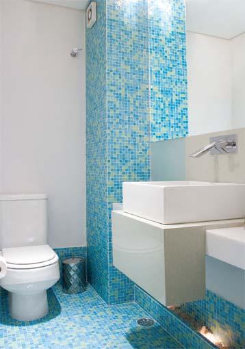 decoracao de interiores banheiros pequenos : decoracao de interiores banheiros pequenos:Casar & Morar: Pastilhas no banheiro – Idéias