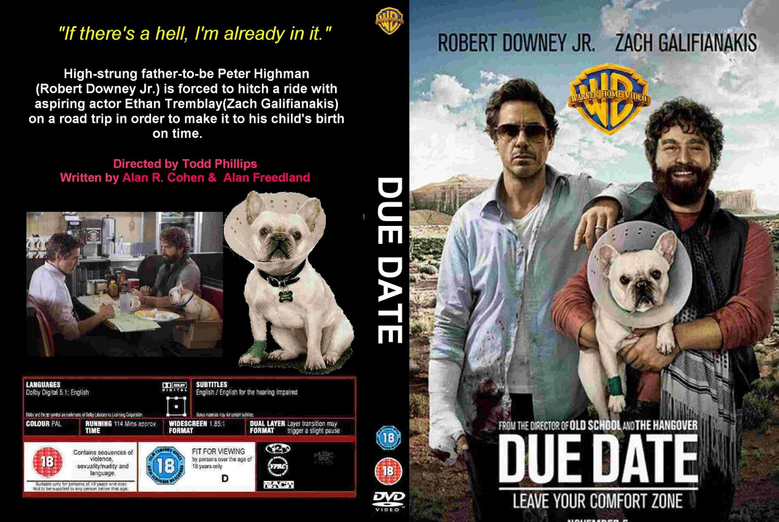 due date trailer hd play and stream due date hd free online here ...