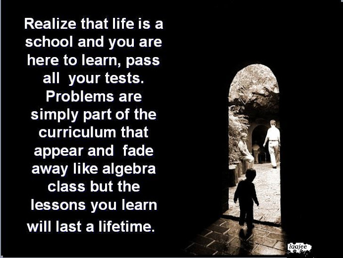 The lesson of Life..
