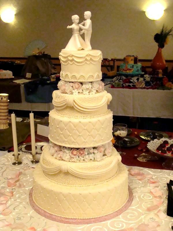 Elizabeth\'s Cakes: Wedding Cake Pictures