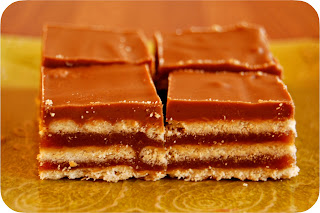 Grandma's Desserts: Homemade Kit Kat Bars