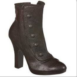 Xhilaration Kalliope Button Ankle Boot