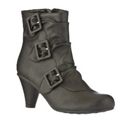 Xhilaration Kattie Buckle Ankle Boots