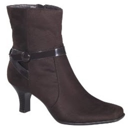 Merona Kenna Short Boots Brown