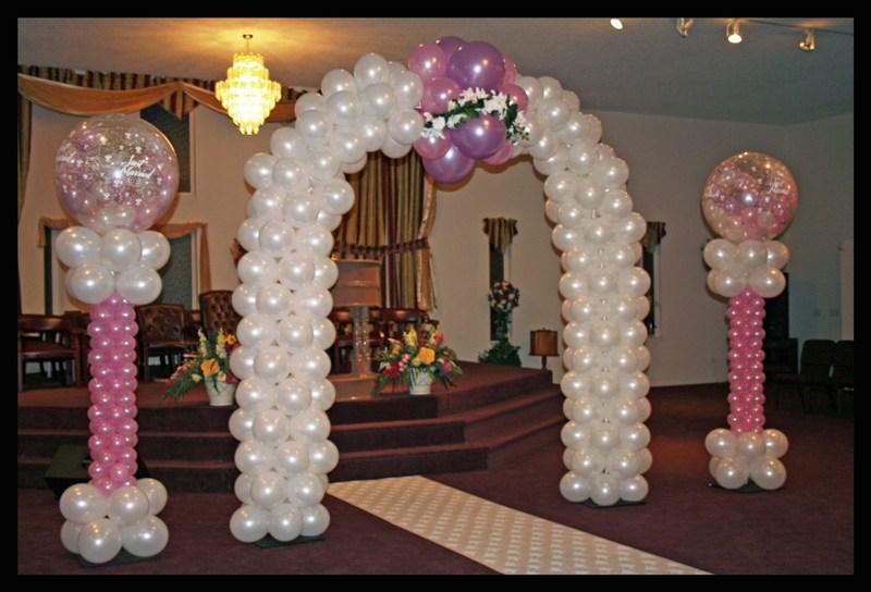 Decoraciones para bodas quiharsodic for Decoracion con globos